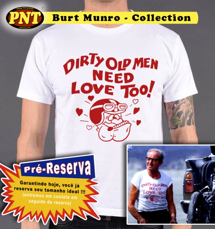 Camiseta 'Old Man' Munro Collection -